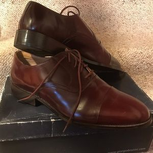 Giorgio Brutini Brown Leather Shoes